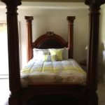 $1800 Full Size Poster Bed Set Including Dresser, Mirror & Armoire